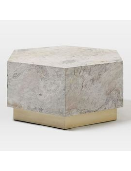 Shoptagr Geo Hex Coffee Table By West Elm - Hex coffee table