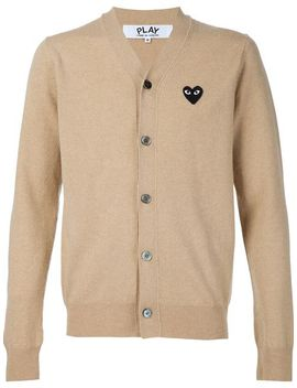 embroidered-heart-cardigan by comme-des-garçons-play