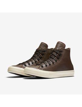 converse x john varvatos chuck ii coated leather low top