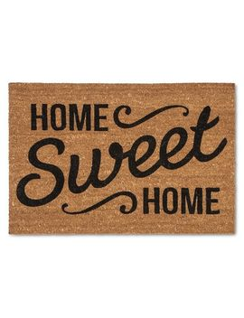 """doormat-home-sweet-home-estate-23""""x35""""---threshold by threshold"""