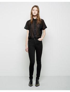 Acne Studios Pin 5 Black Jean by La Garconne