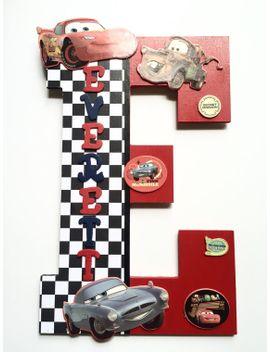 Shoptagr disney cars childrens letter cars child custom wall disney cars childrens letter cars child custom wall negle Gallery