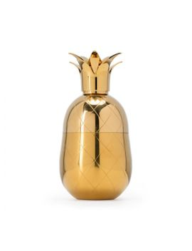 Pineapple Cocktail Shaker Gold by Wp Design