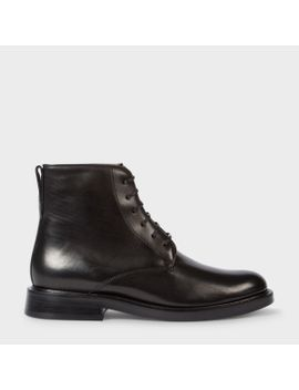 Women's Black Calf Leather 'chesil' Boots by Paul Smith