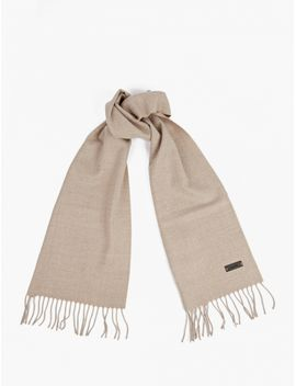 Natural Wool Scarf by Lanvin
