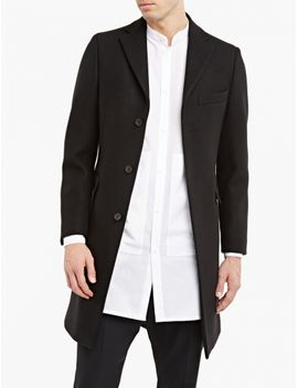 Black Garret Melton Coat by Acne Studios