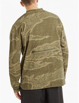 Green Pocket Detail Sweatshirt by Yeezy