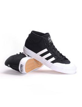 Adidas Matchcourt Mid (Core Black/White/White) Men's Skate Shoes by Ambush Board Co