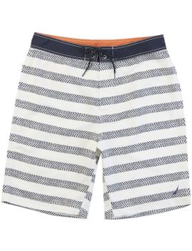 "Quick Dry 21"" Chevron Stripe Board Short by Nautica"