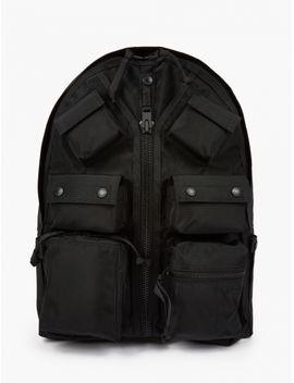 Black Luggage Label Backpack by Porter