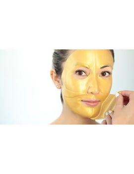 Premium Gold Hydrogel Face Sheet Masks   Set Of 5 by Cotta