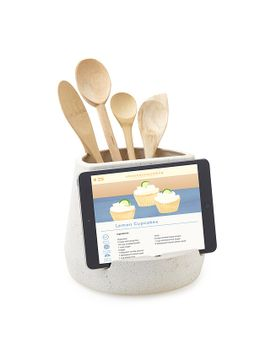 kitchen-utensil-and-tablet-holder by heather-and-myles-geyman