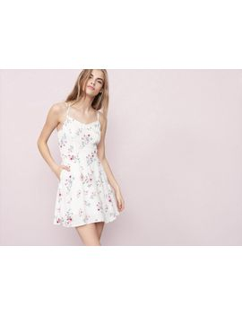 bustier-fit-&-flare-dress by garage