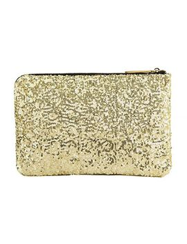 Trendy Women's Clutch With Sequins And Zip Design by Sammy Dress