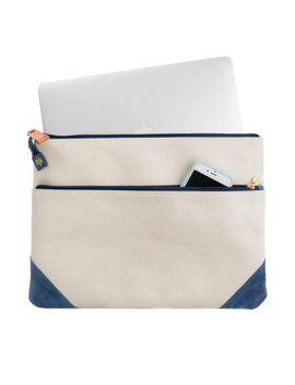Ocean Sheldon Laptop Sleeve by Tuckernuck