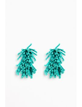 Turquoise Fireworks Earrings by Tuckernuck