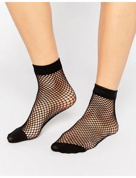 asos-oversized-fishnet-ankle-socks by asos-collection