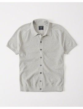 Button Up Sweater Polo by Abercrombie & Fitch