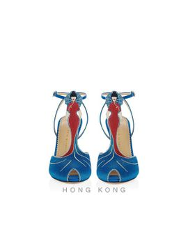 Anna May Wong by Charlotte Olympia