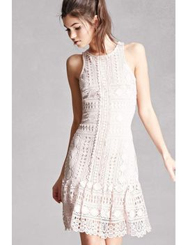 soieblu-crochet-lace-dress by forever-21