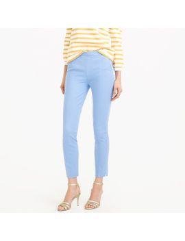 petite-martie-slim-crop-pant-two-way-stretch-cotton by jcrew