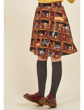 fun-for-the-books-a-line-skirt by modcloth