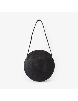 Circle Straw Bag by Samuji