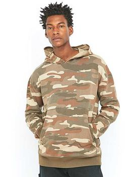 Shore Leave By Urban Outfitters Moss Oversized Sand Camo Hoodie by Urban Outfitters