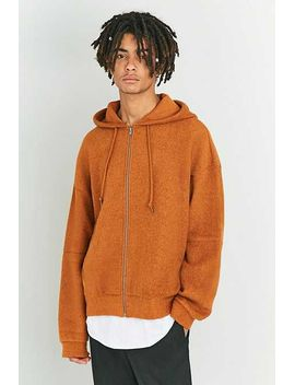 Shore Leave By Urban Outfitters – Hoodie In Karamel Mit Reißverschluss by Urban Outfitters