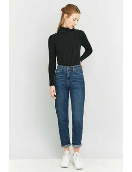 Bdg – Mom Jeans In Dunklem Indigo by Urban Outfitters