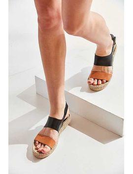 Soludos Bi Color Platform Espadrille Sandal by Urban Outfitters