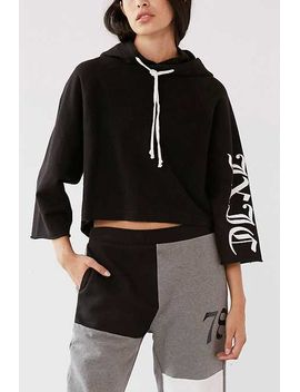 Juicy Couture For Uo Cropped Hoodie Sweatshirt by Urban Outfitters