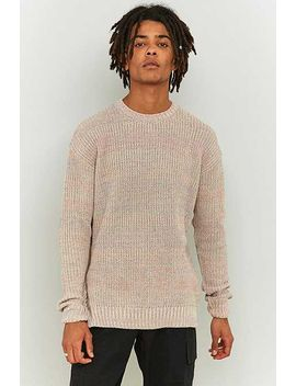 Shore Leave By Urban Outfitters Pastel Twist Knit Jumper by Urban Outfitters