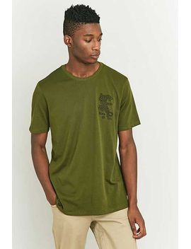 nike-sb-green-dry-leopard-t-shirt by urban-outfitters