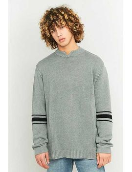 Cheap Monday Wannabe Grey Knit Jumper by Urban Outfitters