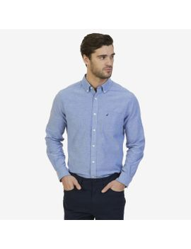 Classic Fit Solid Shirt by Nautica