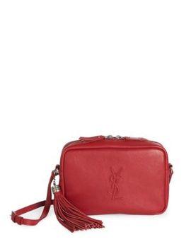 Shoptagr   Lou Embossed Camera Bag by Saint Laurent 106288eb78