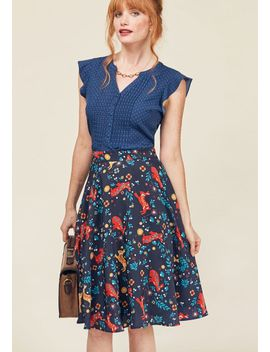 testament-to-your-merriment-a-line-skirttestament-to-your-merriment-a-line-skirt by modcloth