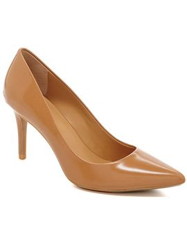 calvin-klein-gayle-leather-pointed-toe-pumps by calvin-klein