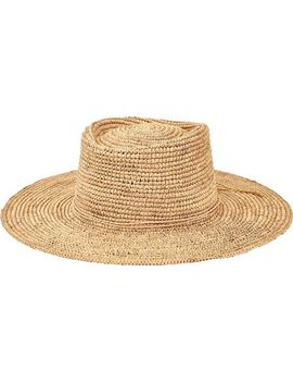 San Diego Hat Company Oval Crown Raffia Sun Hat Rhm6006 (Women's) by San Diego Hat Company