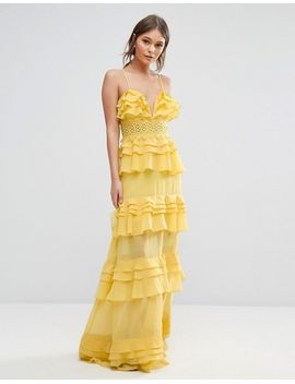 true-decadence-tiered-maxi-dress-with-cami-straps by true-decadence