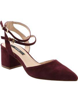 Kensie Begum Ankle Strap Heel (Women's) by Kensie
