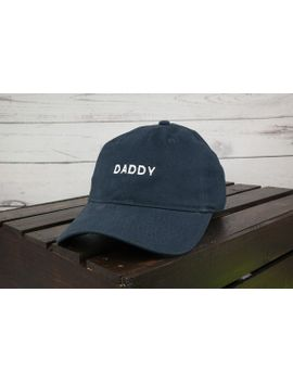 228881f4 Shoptagr   Daddy Embroidered Low Profile Cotton Cap Dad Hat 9 Colors ...