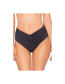 Sunsets V Front High Waist Swim Bottom (Women's) by Sunsets