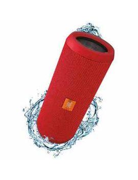 Jbl Flip 3 Portable Bluetooth Speaker   Red   Refurbished by Jbl