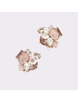 button-earrings by aldo