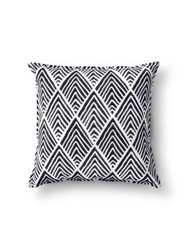 navy-wave-throw-pillow---threshold by shop-collections