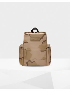 Original Rubberized Leather Backpack by Hunter