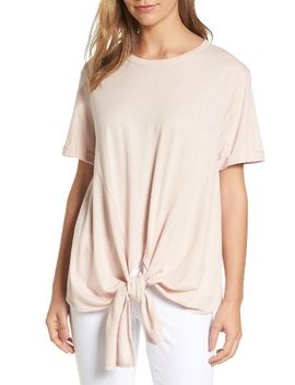 tie-front-tee by caslon