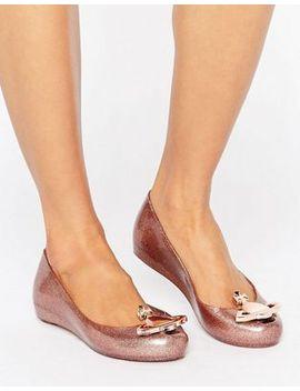 vivienne-westwood-for-melissa-rose-glitter-ultragirl-flat-shoes by vivienne-westwood-for-melissa